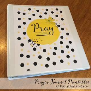 Prayer Journal Printables {Updated}