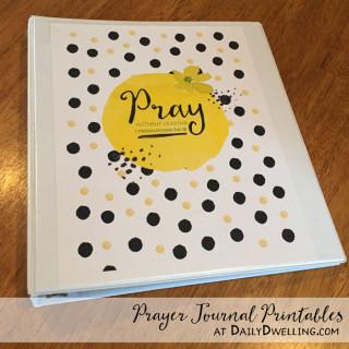Prayer Journal Printables {Updated}