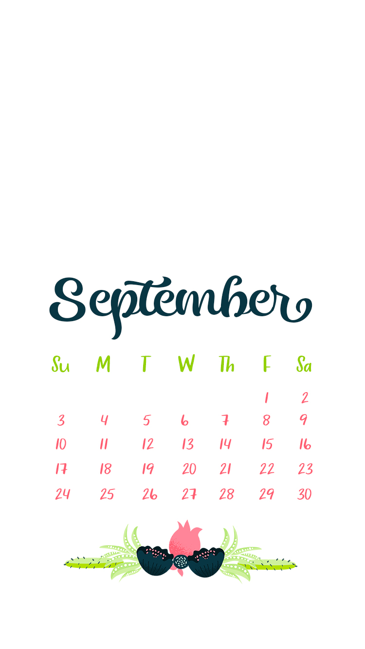 September 2017 IPhone Wallpaper