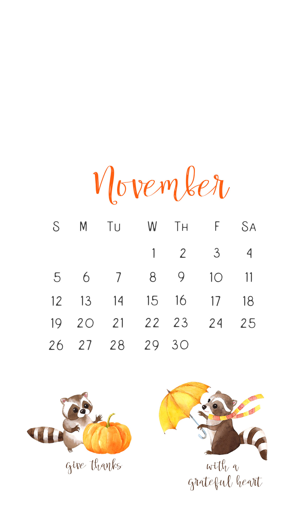 November Calendar Wallpaper For Iphone : Dailydwelling — quot dwell on these things phil